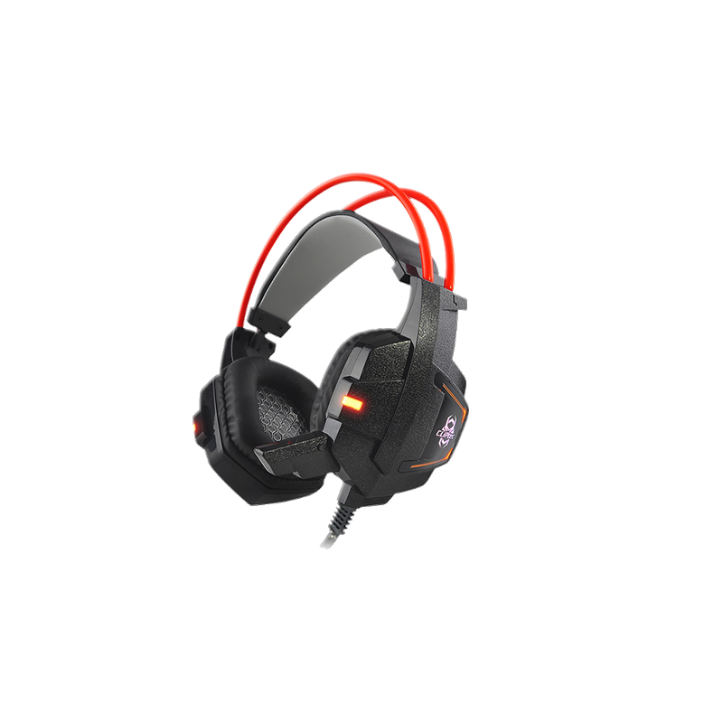 shoppi - CLiPtec LAMBEOS LED Casque Gaming Lumineux BGH730