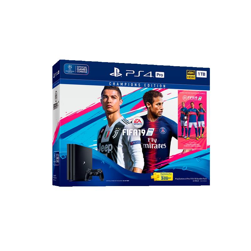 shoppi - SONY Playstation PS4 PRO 1 To Noire FIFA 19