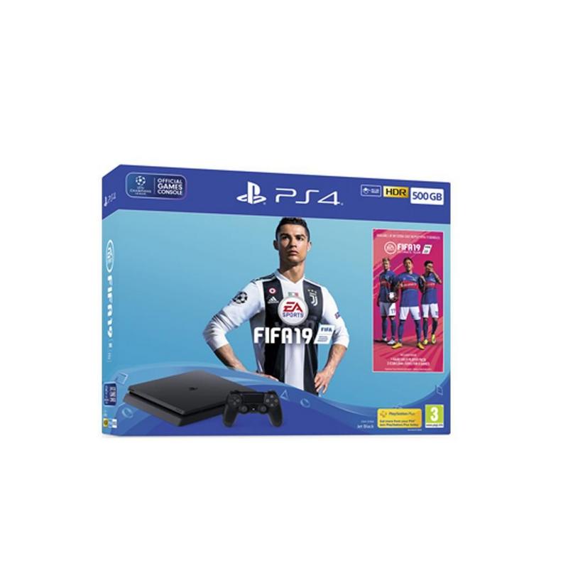 shoppi - SONY Playstation PS4 500Go Noire FIFA 19