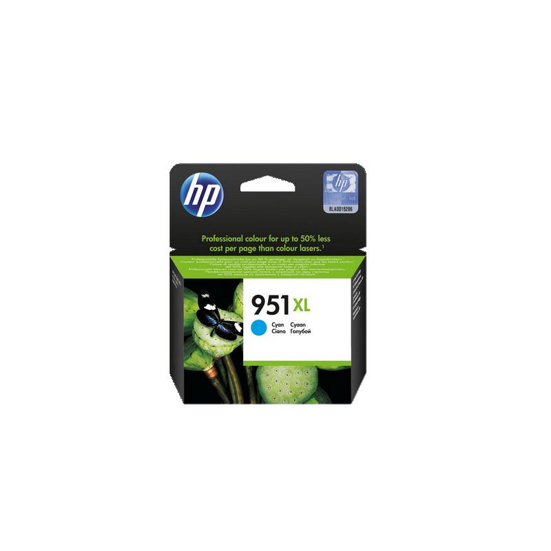 shoppi - Cartouche authentique d'encre cyan haute capacité HP 951XL