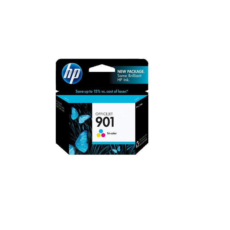 shoppi - Cartouche d'encre d'Origine HP 901 Trois Couleurs
