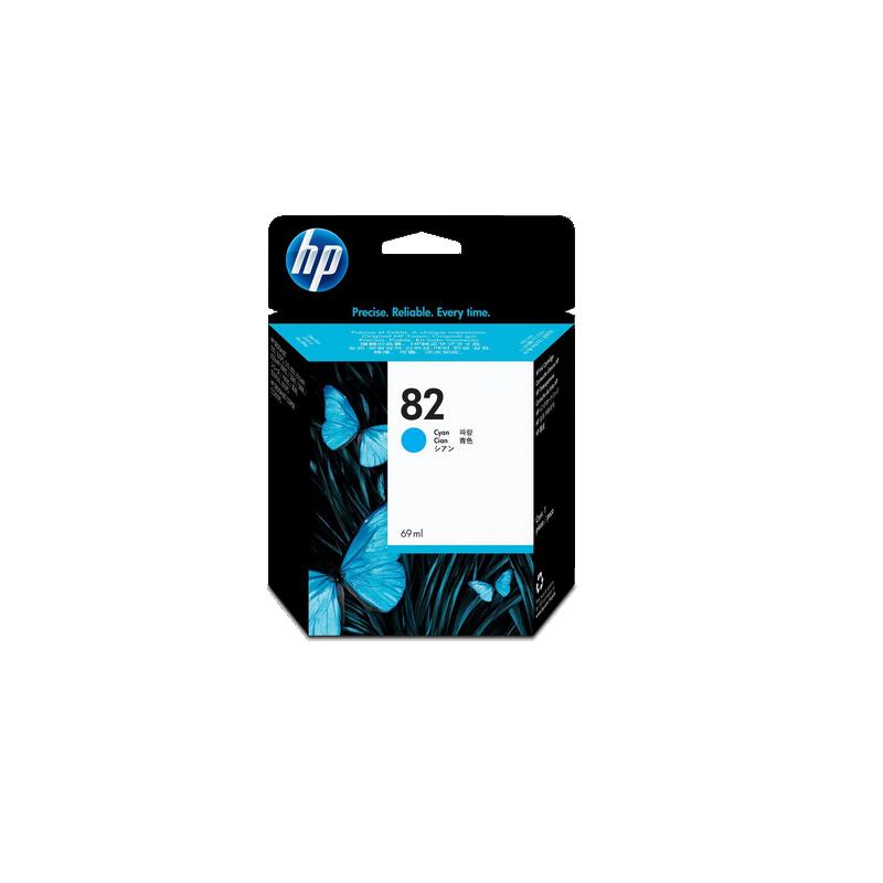 shoppi - HP DesignJet 82 cartouche d'encre cyan, 69 ml