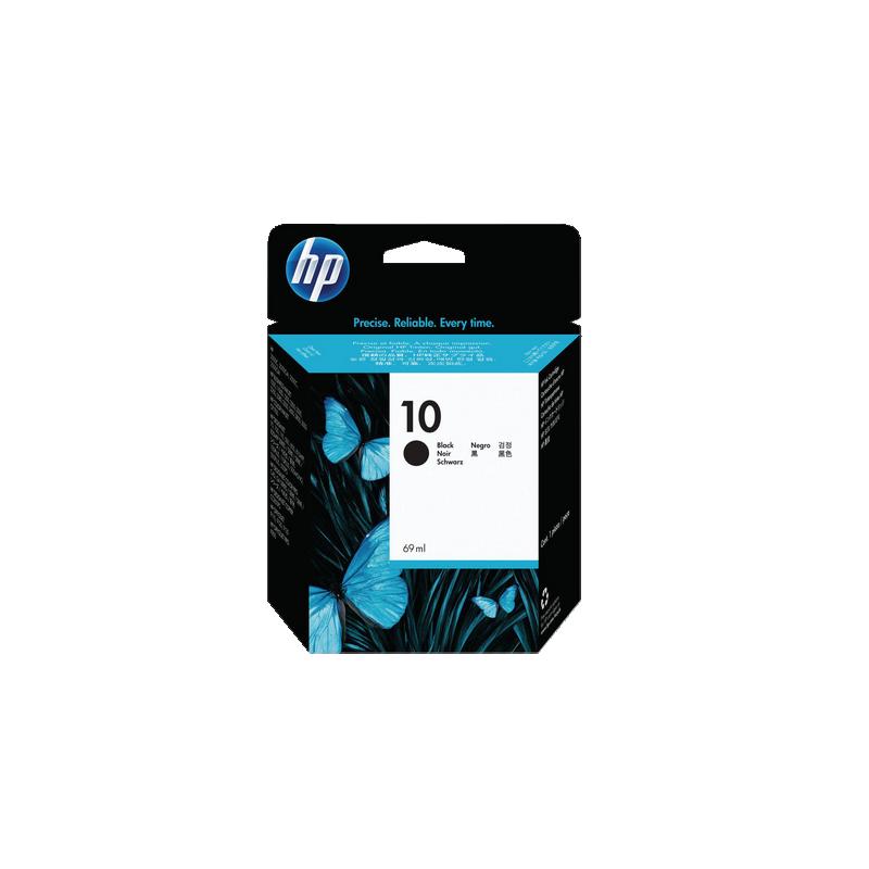 shoppi - HP 10 cartouche d'encre noir authentique