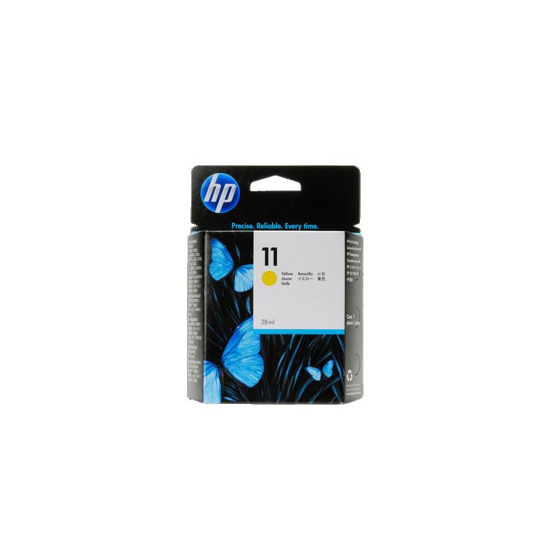 shoppi - HP 11 cartouche d'encre jaune authentique