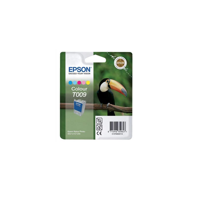 shoppi - Cartouche d'encre 5 couleurs EPSON ORIGINAL T009