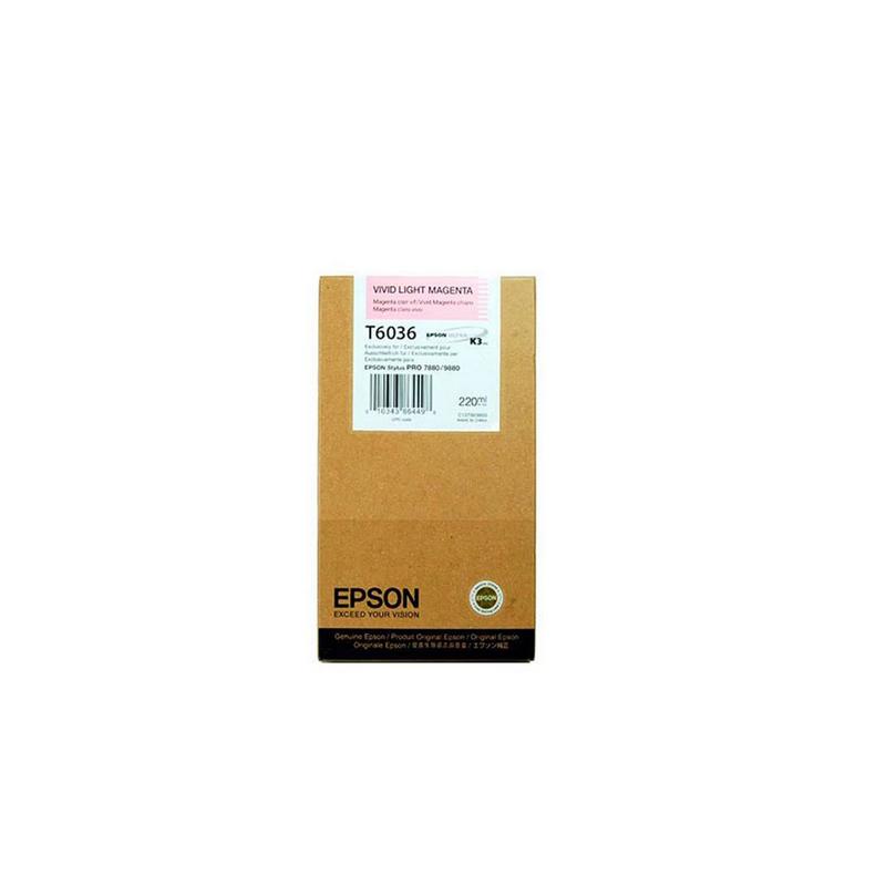 shoppi - Cartouche d'encre magenta claire Epson T6036