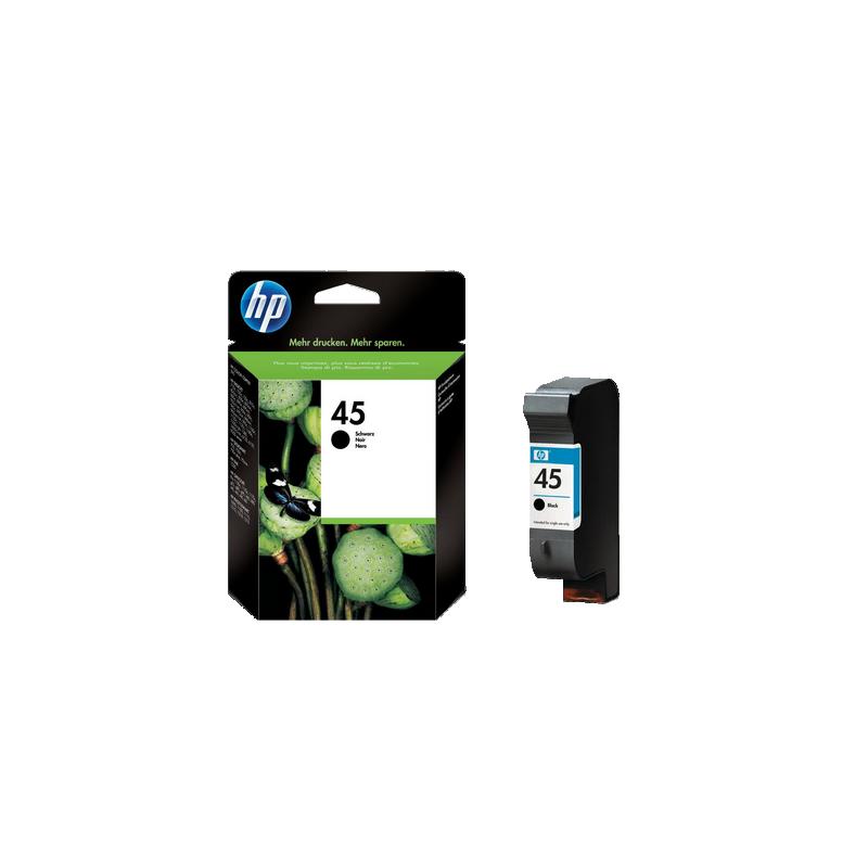 shoppi - HP 45 cartouche d'encre noir authentique grande contenance