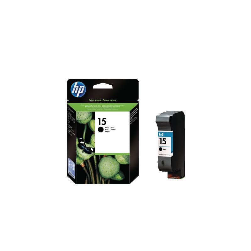 shoppi - HP 15 cartouche d'encre noir authentique grande contenance