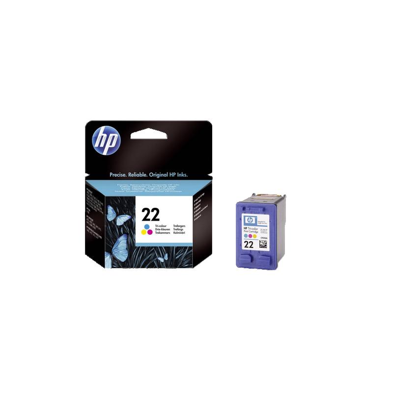 shoppi - HP 22 cartouche d'encre trois couleurs authentique