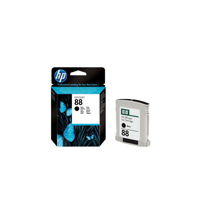 shoppi - HP 88 cartouche d'encre noir authentique