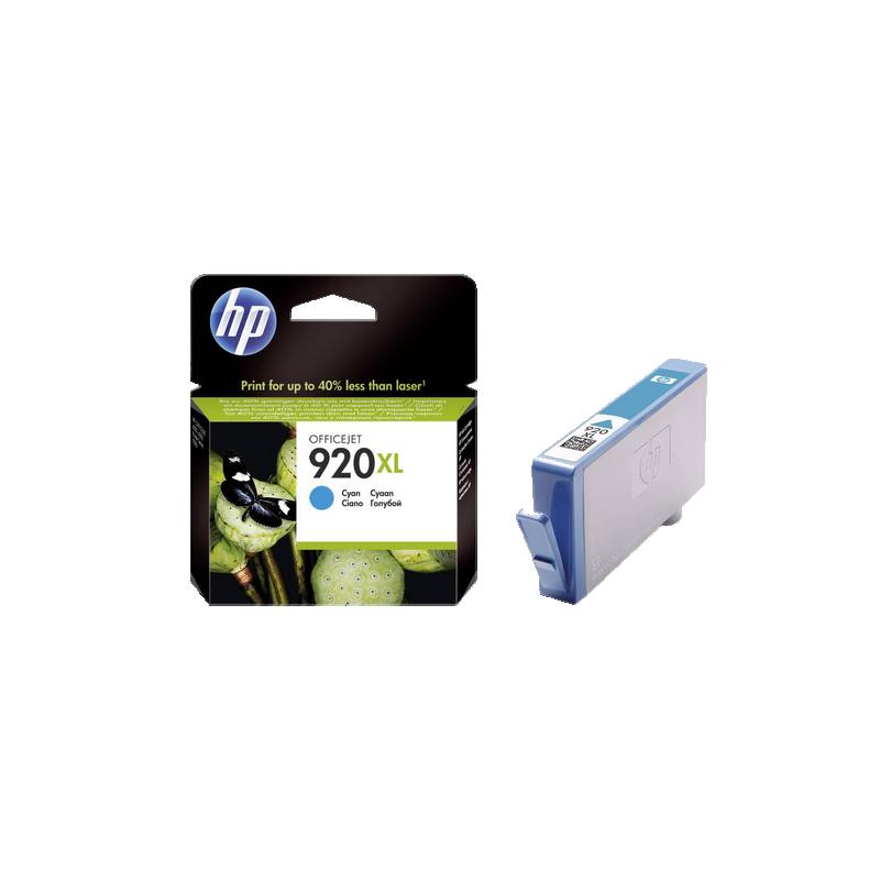 shoppi - Cartouche d'encre Officejet HP 920XL Cyan
