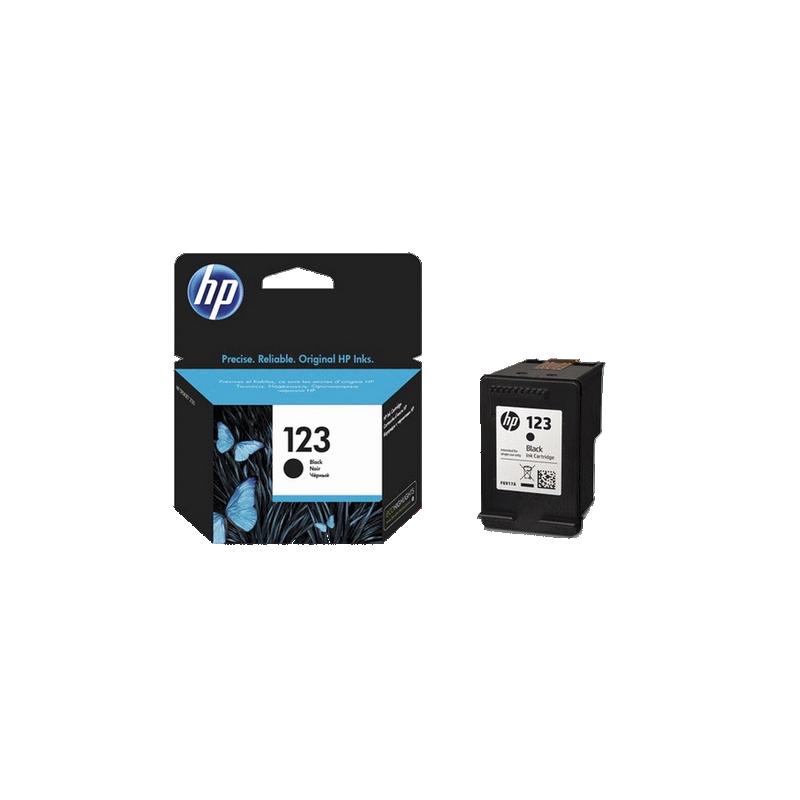 shoppi - HP 123 cartouche d'encre authentique noir