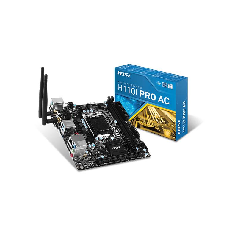 shoppi - Carte Mère MSI  H110M PRO-D - LGA 1151 - INTEL 6EME GEN