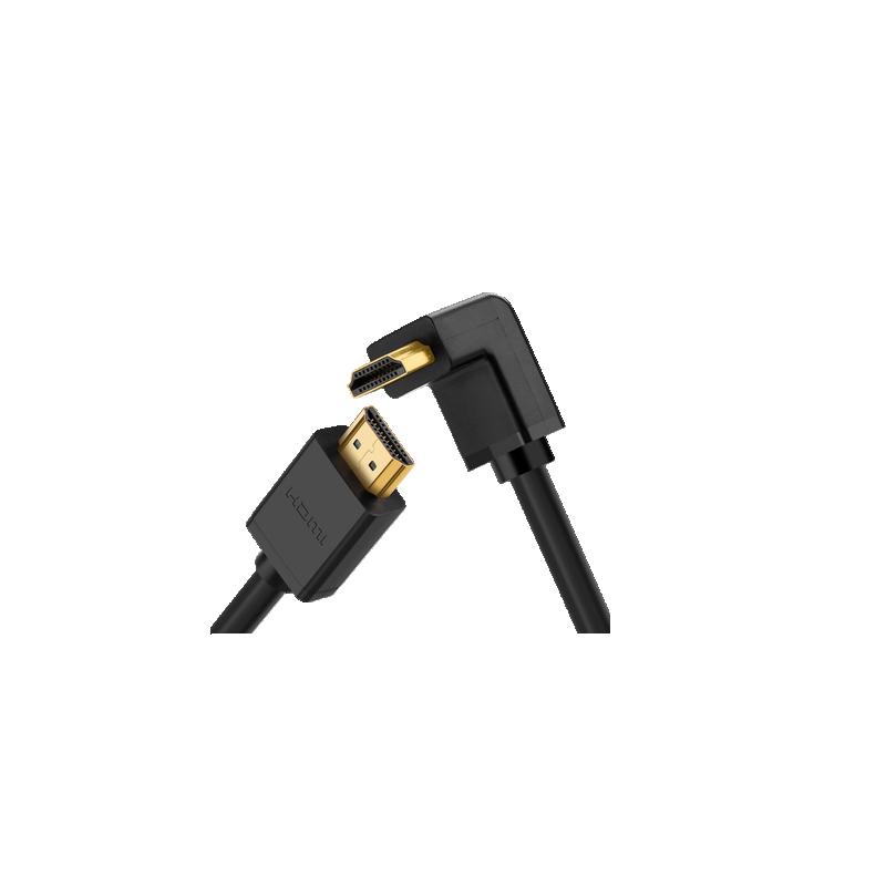 shoppi - Cable HDMI 90 forme L  1.5M