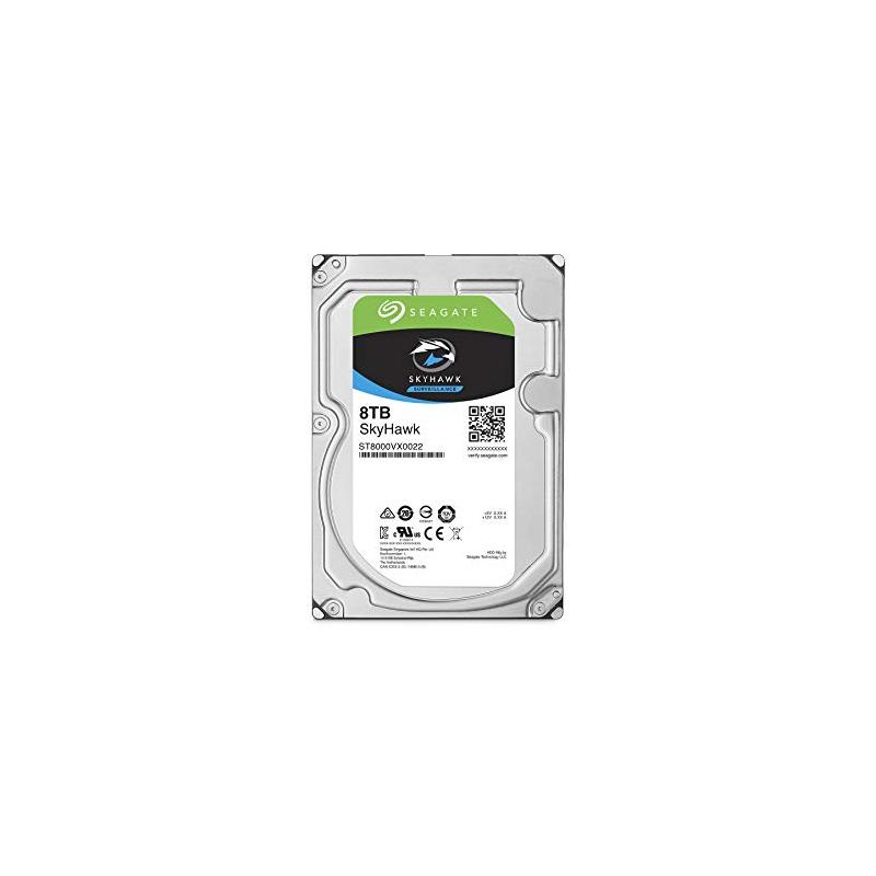 shoppi - Disque dur interne SEAGATE SkyHawk 8To pour Surveillance
