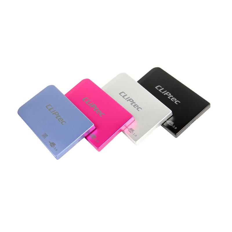 shoppi - Boîtier de disque dur SATA 2.5 'USB 2.0 CLiPtec