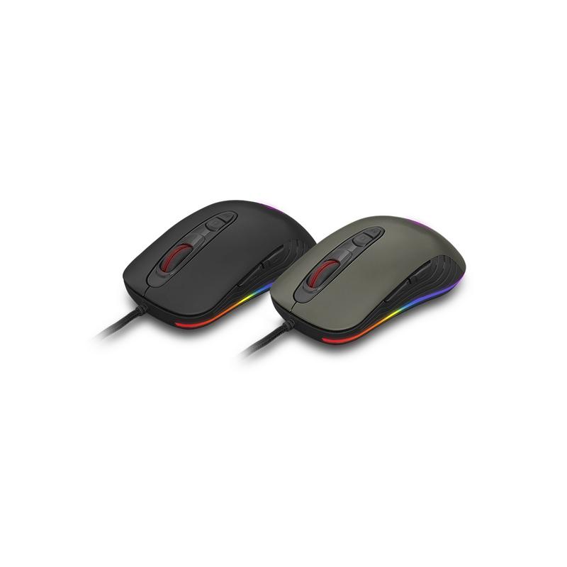 shoppi - Pro-Gaming Mouse Cliptec TAUSONOT USB RGB 4800dpi  RGS575