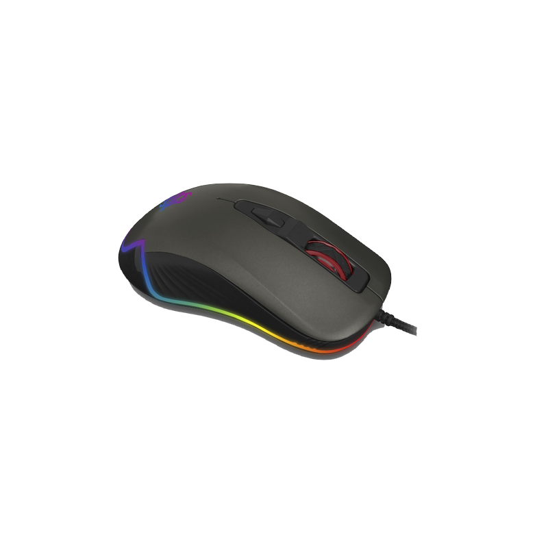 shoppi - Souris Pro Gamer CliPtec TAURINOT  USB RGB 4800 dpi RGS574