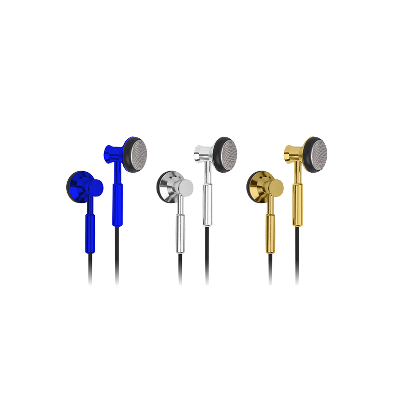 shoppi - Écouteur en  Metal In-Ear Earbuds Cliptec BME804