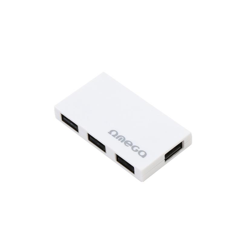 shoppi - HUB 4 ports USB 2.0 OMEGA