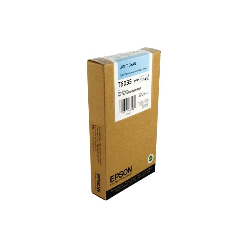 shoppi - Cartouche d'encre cyan claire Epson T6035