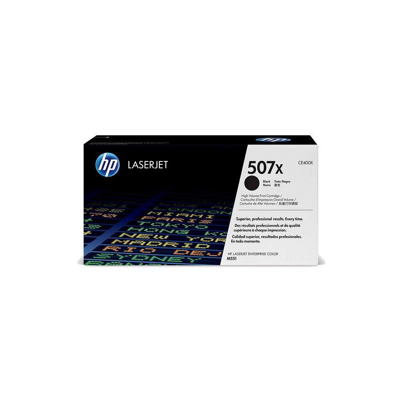 shoppi - HP 507X toner LaserJet noir grande capacité