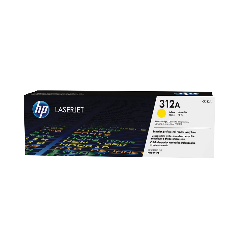 shoppi - Cartouche de toner jaune authentique HP LaserJet 312A