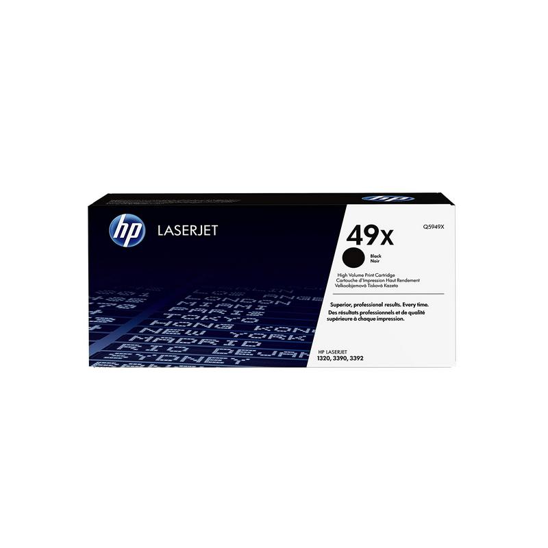 shoppi - Cartouche de toner noir haute capacité LaserJet authentique HP LaserJet 49X
