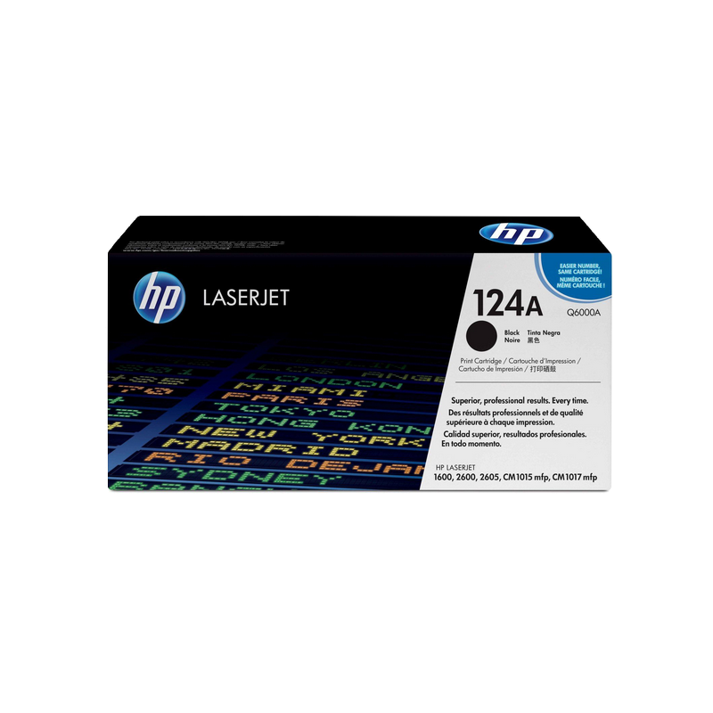 shoppi - HP 124A toner LaserJet noir authentique