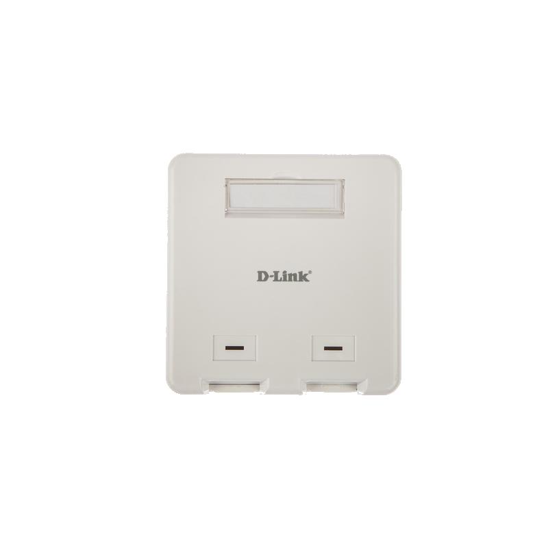shoppi -  Plaque frontale D-Link 2 Dual