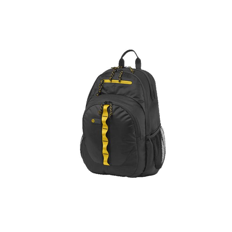 shoppi - Sac à dos de sport HP 15.6 noir/jaune