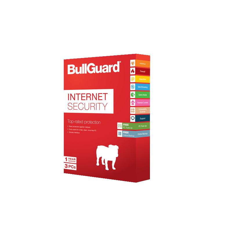 shoppi - AntiVirus BULLGUARD Internet Security 3 Poste - 1 an