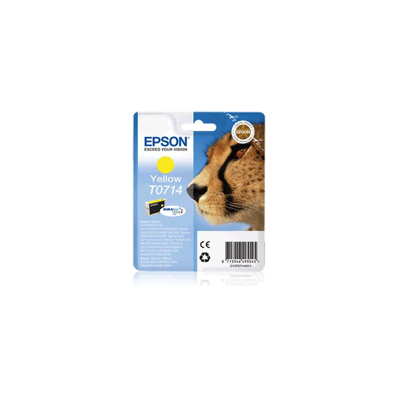 shoppi - Cartouche d'encre jaune pour imprimante Epson C13T071440