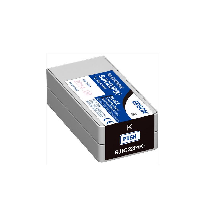 shoppi - Cartouche d'encre Noire Epson pour COLORWORKS C3500