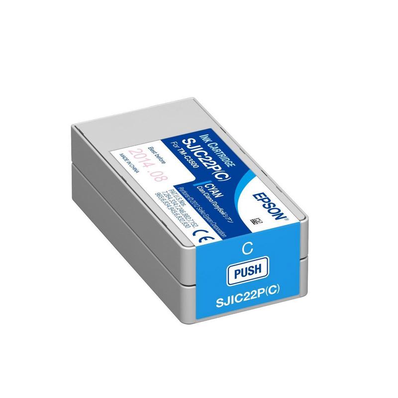 shoppi - Cartouche d'encre Cyan Epson pour COLORWORKS C3500