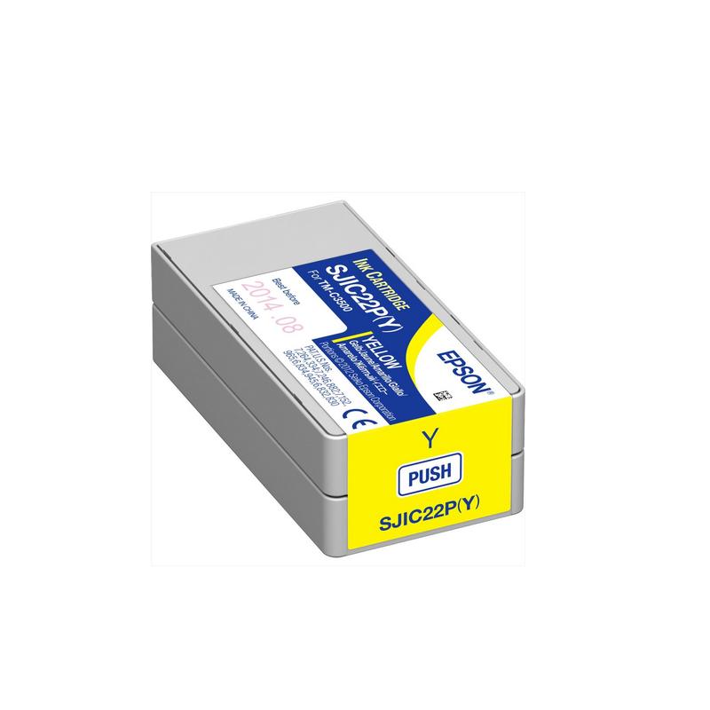 shoppi - Cartouche d'encre Yellow Epson pour COLORWORKS C3500
