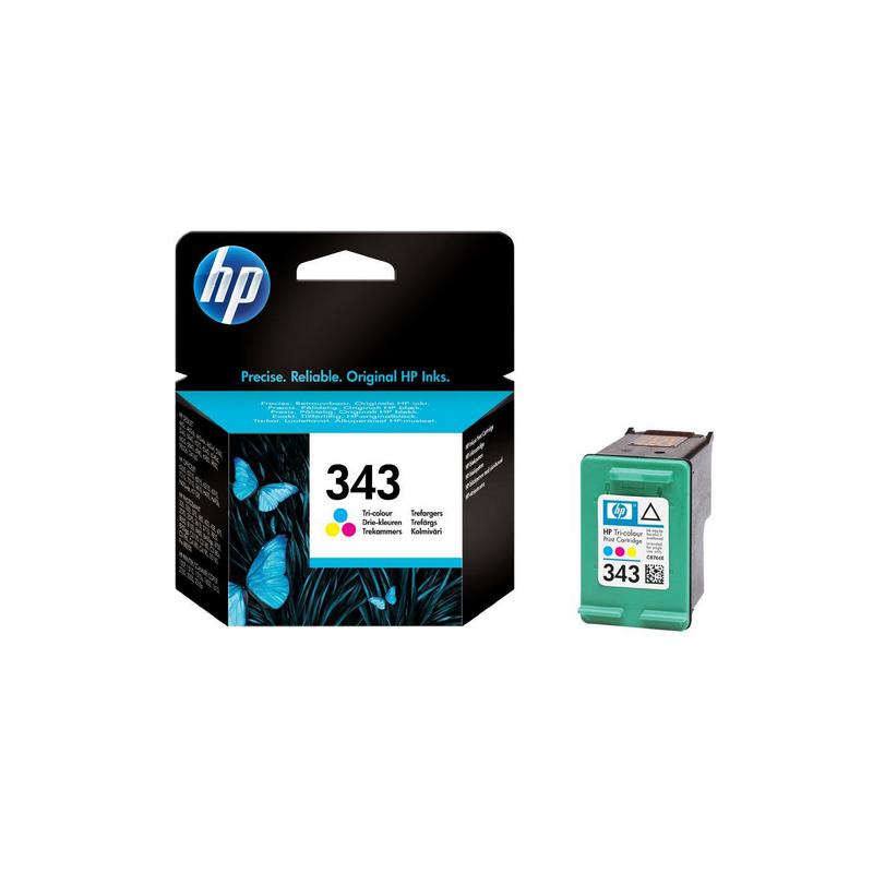 shoppi - Cartouche d'encre trois couleurs HP 343