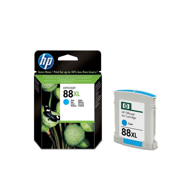 shoppi - Cartouche d'encre cyan grande capacité HP 88XL