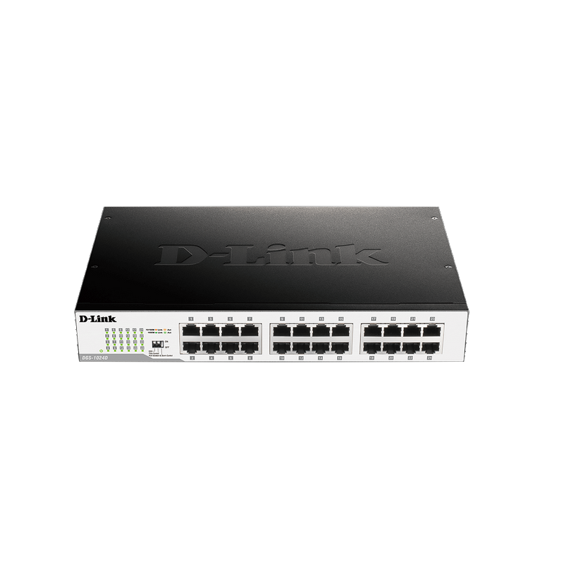 shoppi - Switch D-Link 24 ports Gigabit 10/100/1000