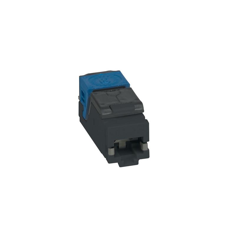 shoppi - Lot de 6 connecteurs RJ45 haute densité catégorie6 UTP LCS³