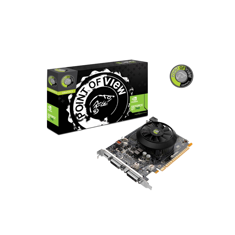 shoppi - Carte Graphique Point Of View GeForce GT 740 4Go