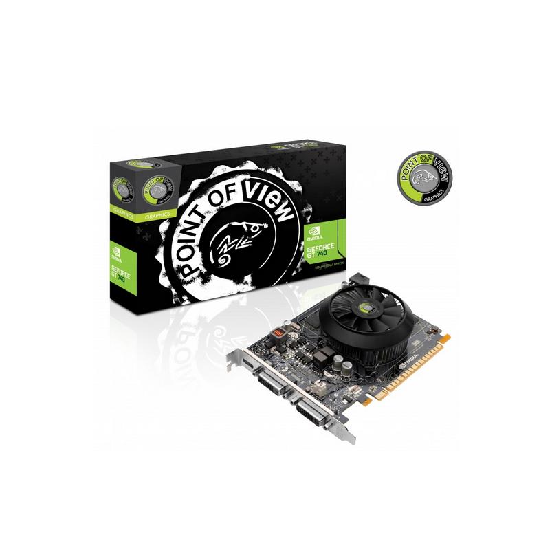 shoppi - Carte Graphique Point Of View GeForce GT 740 4Go