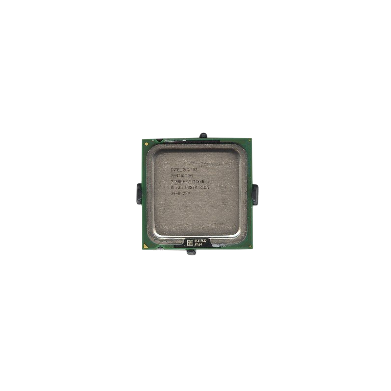 shoppi - Micro Processeur Intel Pentium 4 2.8GHz 800MHz 1MB Socket 775 CPU