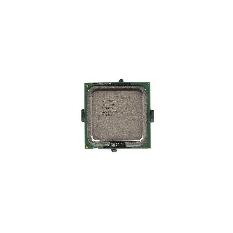 shoppi - Micro Processeur Intel Pentium 4 2.8GHz 800MHz 1MB Socket 775 CPU