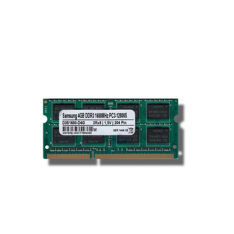 shoppi - Barrette Mémoire Samsung 4 go DDR3 12800 Mhz