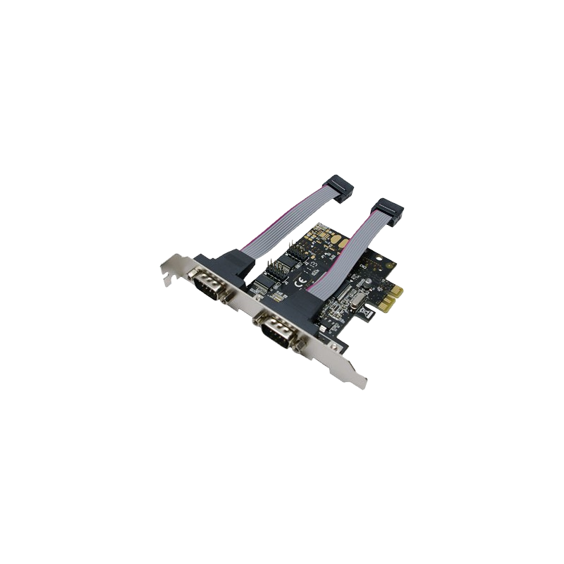 shoppi - Carte PCI-Express 2 PORTS SERIAL + 1 PARALLEL