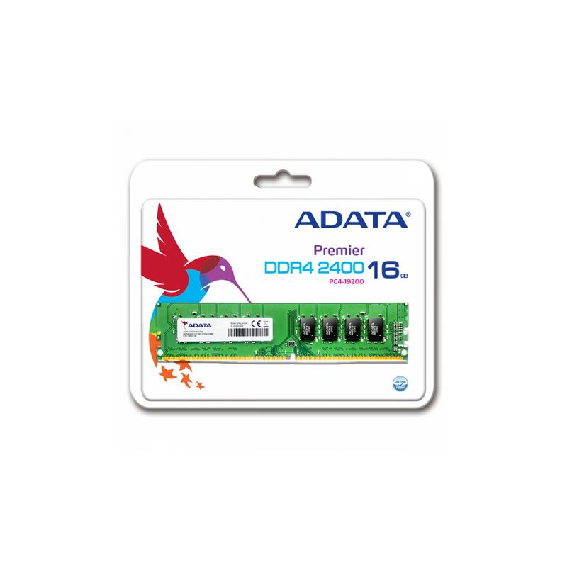 shoppi - Barrette Mémoire ADATA 16G DDR4-2400 MHZ DIMM