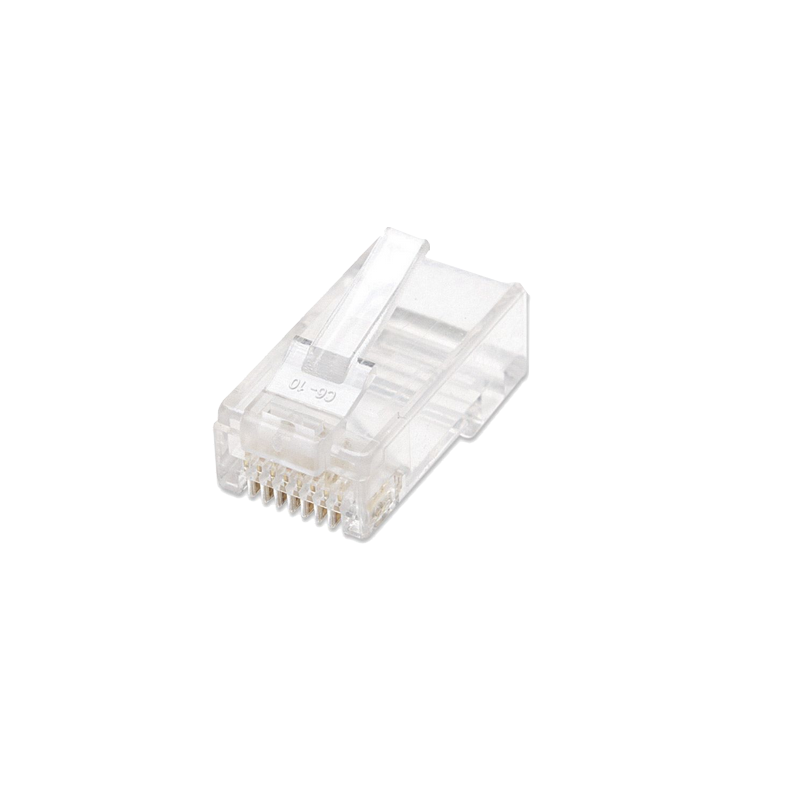 shoppi - Connecteur RJ 45 cat6 Pâquet de 100 pcs