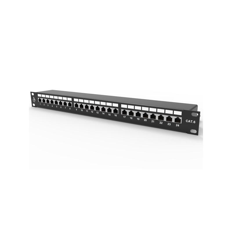 shoppi - Panneau de brassage, MMC, 24 ports RJ45, nu
