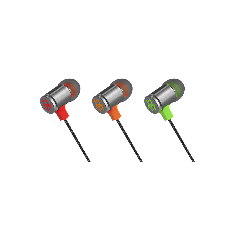 shoppi - Écouteur CLiPtec intra-auriculaire Gaming  FIRE-BULLET avec microphone